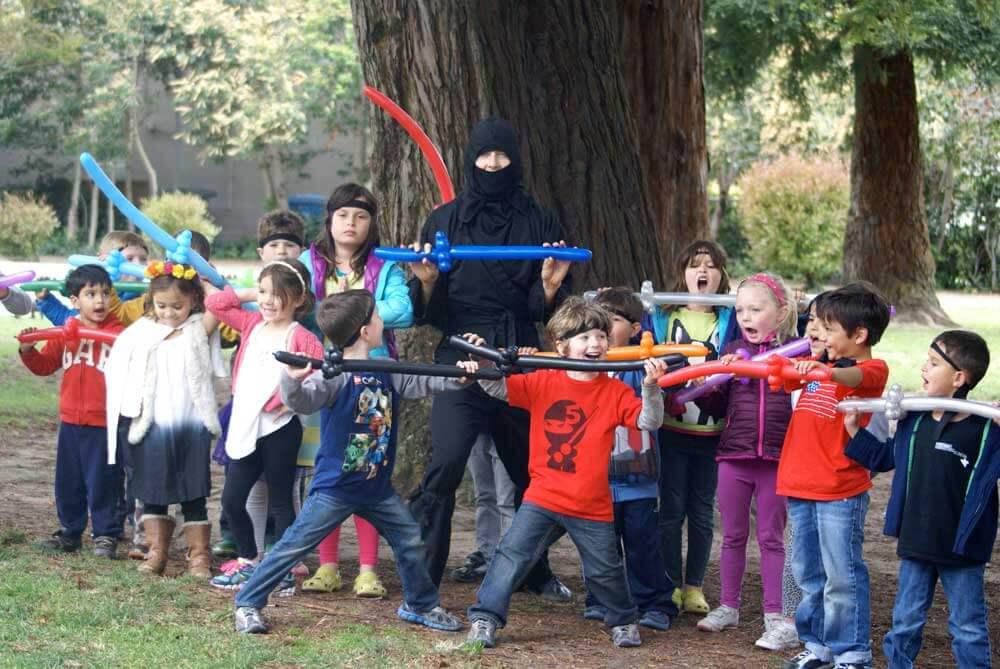 ninja party ninja training birthday 2