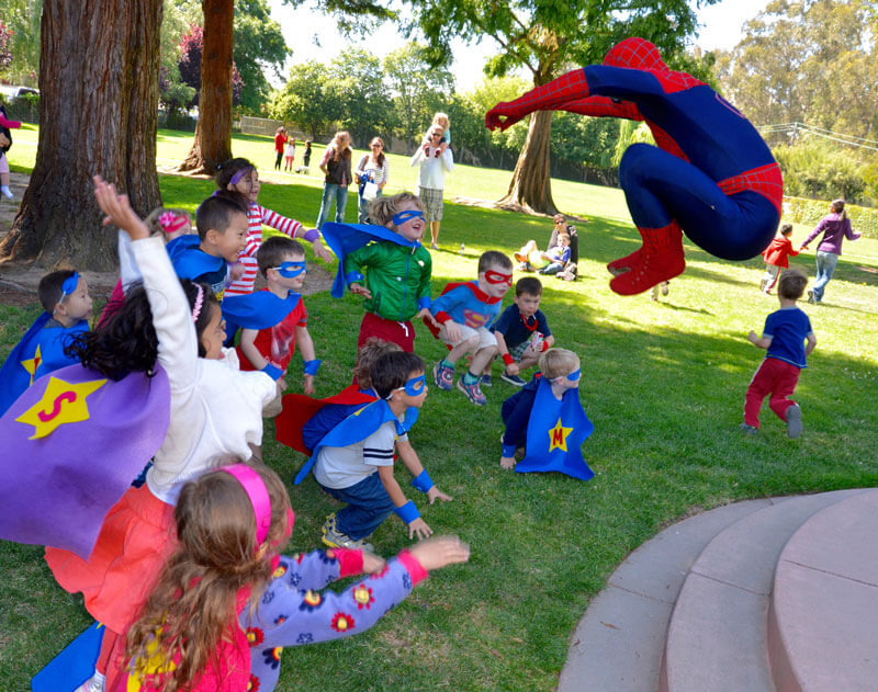superhero party spiderman birthday 3