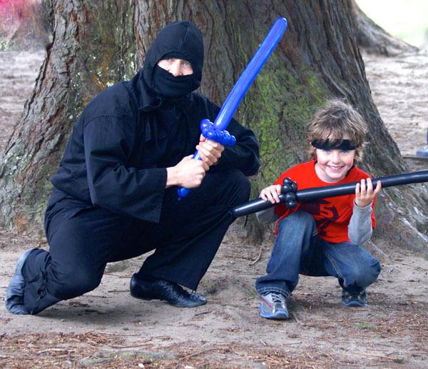 ninja party ninja training birthday 5