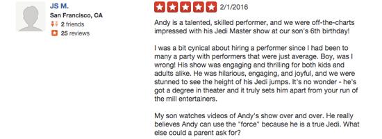Jedi Review