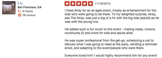 Ninja Review