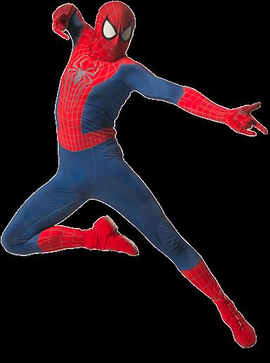 superhero party spiderman birthday