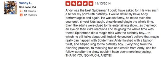 Superhero Review