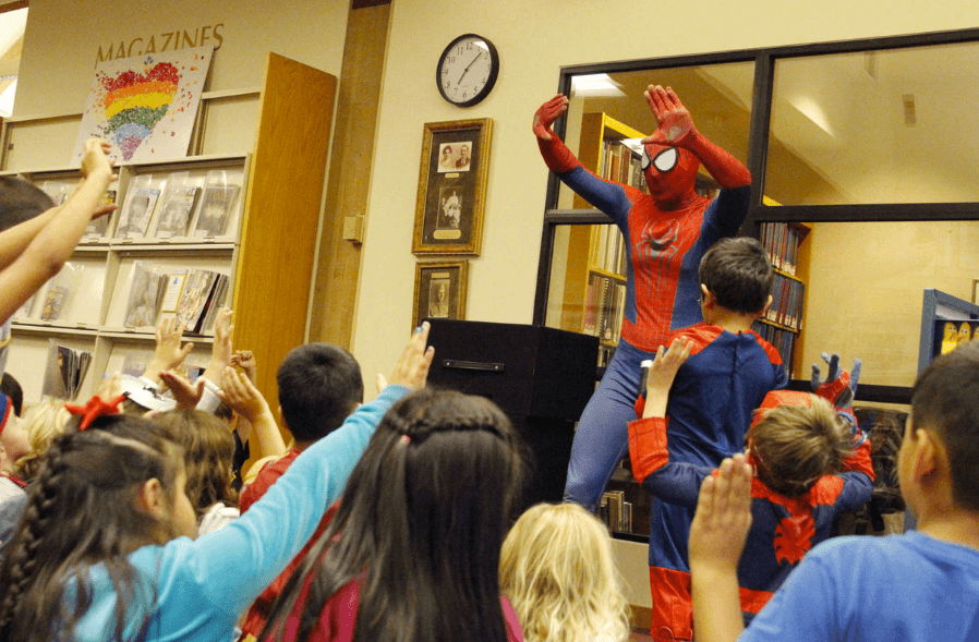 Superhero Training at the St. Helena Library!
